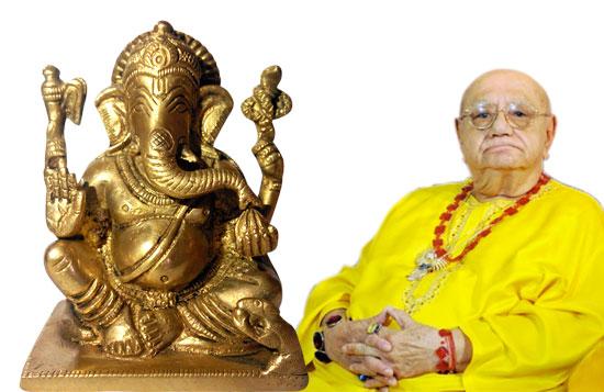 Holy Ganesha Idol – Attuned by Shri Bejan Daruwalla