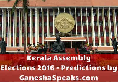 Kerala Assembly Elections 2016 – What will we get to witness? Let's get to know from Ganesha!